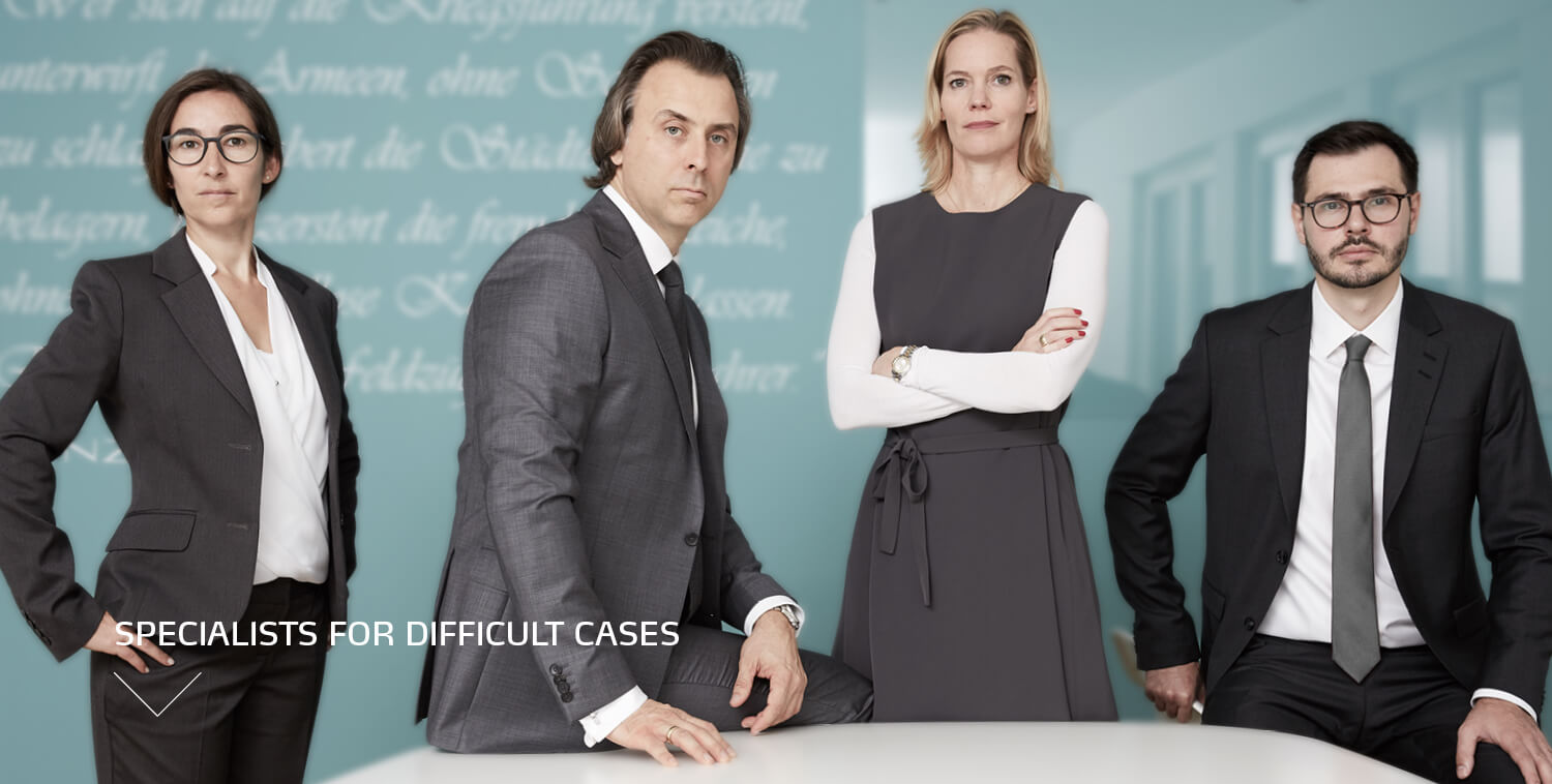 Specialists for difficult cases