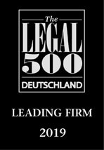 The Legal500 -  Leading Firm